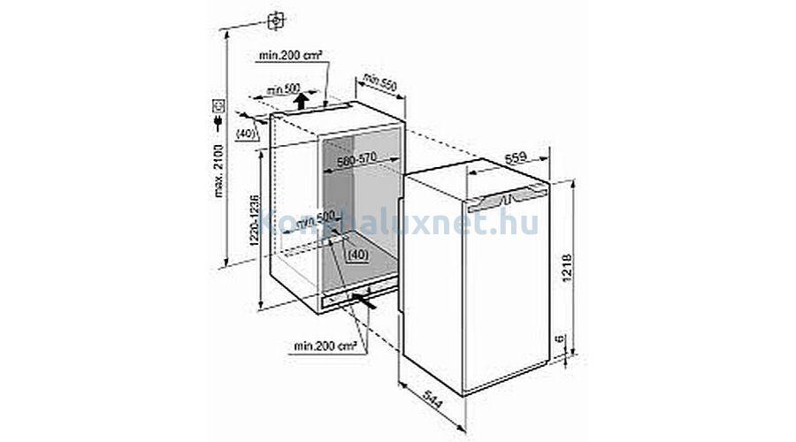 liebherr ikbp 2350 be p thet h t. Black Bedroom Furniture Sets. Home Design Ideas