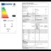 Kép 4/4 - GORENJE NRKI5182A1 Beépíthető Kombinált Hűtőszekrény