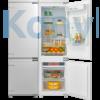 Kép 1/2 - Master Kitchen MKRF 320I ST Beépíthető kombinált hűtő  - No Frost
