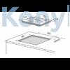 Kép 2/2 - Master Kitchen Prime MKHG 7541-PR TC XS Beépíthető Gázfőzőlap
