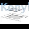 Kép 2/2 - Master Kitchen Prime MKHG 9041-PR LTC XS Beépíthető Gázfőzőlap