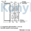 Kép 8/10 - Bosch KIN865SF0 alulfagyasztós beépíthető NoFrost hűtő 178cm Seie2