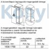 Kép 10/11 - Bosch KIR81VFF0 beépíthető egyajtós hűtő 178cm Serie4