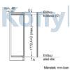 Kép 9/11 - Bosch KIR81VFF0 beépíthető egyajtós hűtő 178cm Serie4