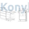 Kép 8/10 - Bosch PIE611B15E indukciós főzőlap páraelszívóval Serie4