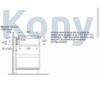 Kép 9/10 - Bosch PIE611B15E indukciós főzőlap páraelszívóval Serie4