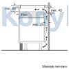 Kép 11/11 - Bosch PUF612FC5E beépíthető indukciós lap fehér Serie6