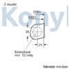 Kép 9/9 - Bosch WIW28541EU beépíthető mosógép 8kg 1400f/p Serie8