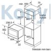 Kép 8/10 - Neff C17GR00G0 N70 beépíthető mikrohullámú sütő