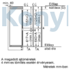 Kép 9/12 - Neff KI6873FE0 beépíthető alulfagyasztós hűtő 178cm 209+61L