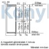 Kép 10/11 - Neff KI7862FE0 N50 beépíthető alulfagyasztós hűtőszekrény NoFrost Line