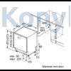 Kép 7/7 - Neff S355HVX15E teljesen beépíthető mosogatógép Line