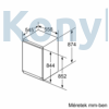 Kép 3/4 - Neff GI1213D30 beépíthető  fagyasztószekrény