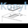 Master Kitchen Edge MKHG 381-EDS FTC GCBK Beépíthető Gázfőzőlap
