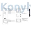 Samsung MG23A7013CT/EO beépíthető mikrohullámú sütő inox