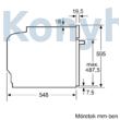 Bosch HBG655NS1 beépíthető sütő EcoClean öntisztítás nemesacél Serie8