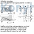 Bosch KIV87VFE0 beépíthető alulfagyasztós hűtőszekrény 178cm Serie4