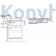 Bosch PIE611B15E indukciós főzőlap beépített páraelszívóval 60cm Serie4