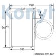 Bosch WAV28L90BY elöltöltős mosógép 9kg 1400f/p ActiveOxygen Serie8