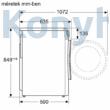 Bosch WNG254U0BY szabadonálló mosó-szárítógép 10/6kg 1400f/p Serie6