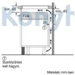 BOSCH PUE631BB2E Beépíthető Indukciós Főzőlap