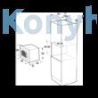 GORENJE BM235SYB Simplicity design  Beépíthető Mikrohullámú Sütő
