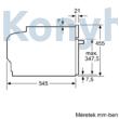 Neff C17UR02G0 N70 beépíthető mikrohullámú sütő 45cm grafitszürke Neff Collection