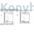 Neff I98WMM1S5 N90 pultba építhető páraelszívó 90cm üveg Neff Collection