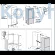 Whirlpool SP40 801 EU 1 beépíthető hűtőszekrény 194x70x55cm