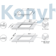 WHIRLPOOL SMO 604OF/NE Beépíthető Indukciós Kerámialap
