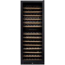 Dunavox DX-181.490DBK Grande beépíthető borhűtő fekete 166 palackos