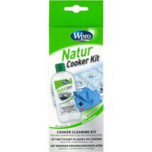 WPRO KVT300 Natur-vitro kerámialap tisztító szett