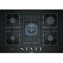 Bosch PPQ7A6B90 beépíthető gázfőzőlap fekete üveglapon 75cm Serie6