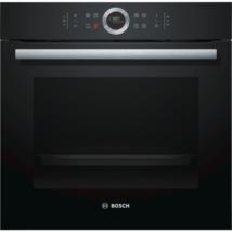 Bosch HBG675BB1 beépíthető sütő pirolítikus öntisztítás fekete Serie8