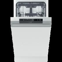 Gorenje GI561D10S beépíthető mosogatógép 45cm ezüst A++
