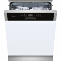 Neff S415M80S1E beépíthető mosogatógép nemesacél