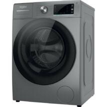 Whirlpool W6 W945SB EE előltöltős gőzfunkciós mosógép ezüst színű szöveges LCD 9kg 1400f/p