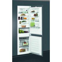 WHIRLPOOL Beépíthető Kombinált Hűtőszekrény ART 6611/A++