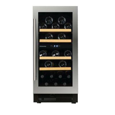 Dunavox DAUF-32.78DSS beépíthető borhűtő inox 32 palackos