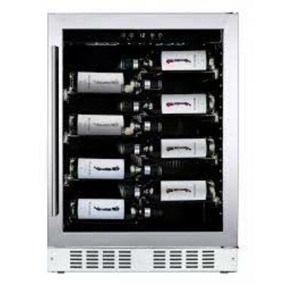 Dunavox DAUF-40.138SS Flow beépíthető borhűtő inox 40 palackos