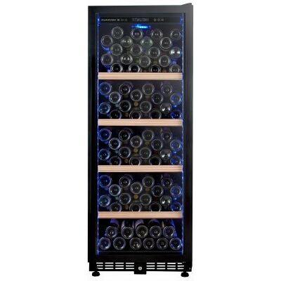 Dunavox DX-147.280K beépíthető borhűtő fekete 147 palackos
