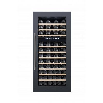 Dunavox DX-74.230DB Soul beépíthető borhűtő fekete 74 palackos