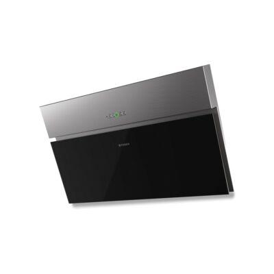 FABER Onyx-V X/V A90 Páraelszívó Inox/ Fekete üveg