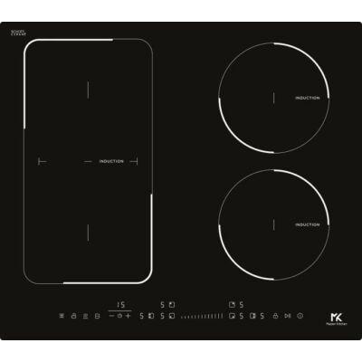 Master Kitchen MKHI 604 1BR BK Beépíthető Indukciós Főzőlap