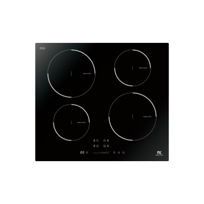 Master Kitchen MKHI 604 FRXS BK Beépíthető Indukciós Főzőlap
