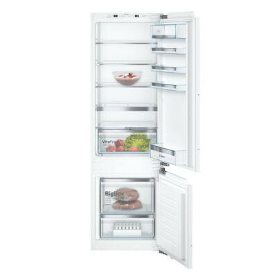 Bosch KIS87AFE0 beépíthető alulfagyasztós hűtőszekrény 209/61L Serie6