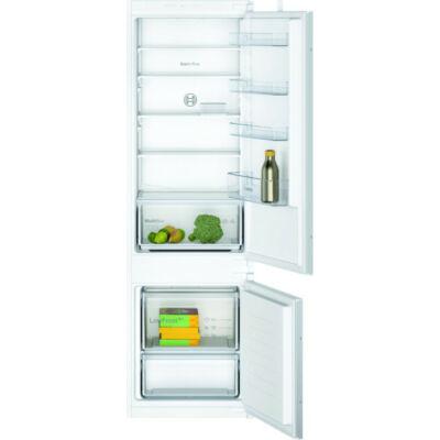 Bosch KIV875SF0 beépíthető alulfagyasztós hűtőszekrény 200/70L