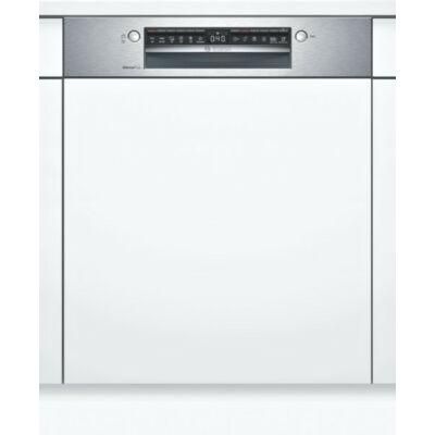 Bosch SMI4ECS14E beépíthető mosogatógép nemesacél