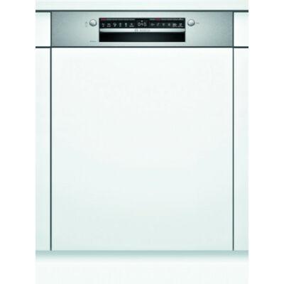 Bosch SMI4HTS31E beépíthető mosogatógép nemesacél