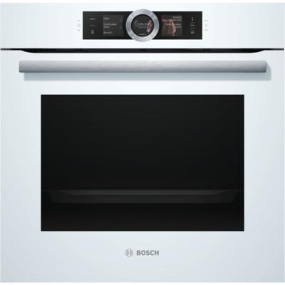 Bosch HSG636BW1 beépíthető gőzsütő fehér EcoClean Direct öntisztítás Serie8